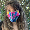 Picture of tie dye mask