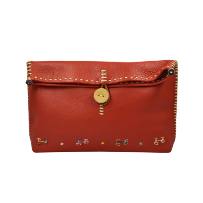 Picture of trike leather crossbody