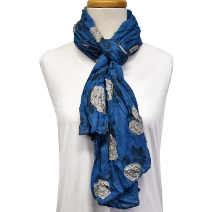 Picture of flower garden scarf