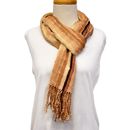 Picture of natural dye scarf
