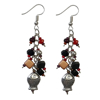 Picture of coastal coral earrings