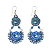 Picture of crystal goblet earrings