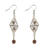 Picture of double triangle earrings