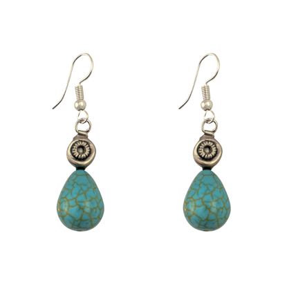 Picture of gemstone earrings