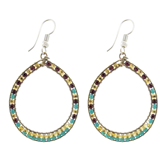 Picture of gancho earrings