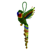 Picture of parrot ornament