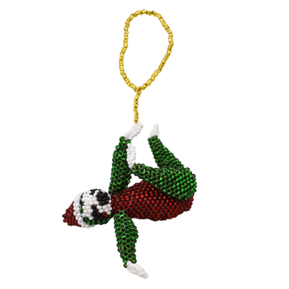 Picture of sloth holiday ornament