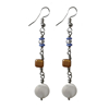 Picture of concha pearl earrings