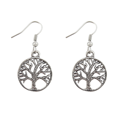 Picture of tree of life earrings