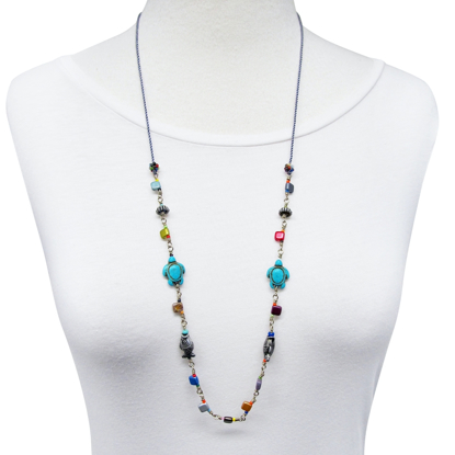 Picture of coastal bay necklace