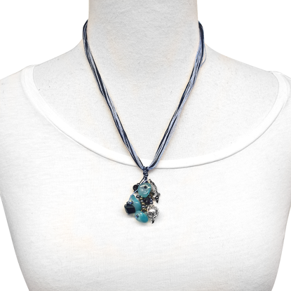 Picture of ocean pendant necklace
