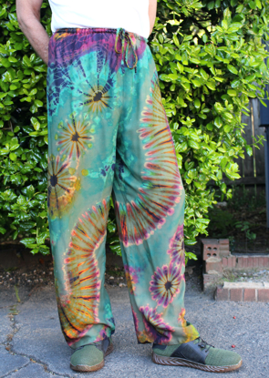 Picture of pepper tie dye pant