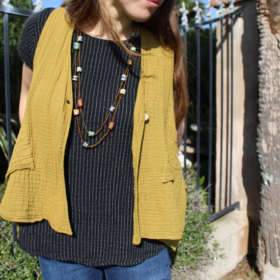 Picture of gauzy vest