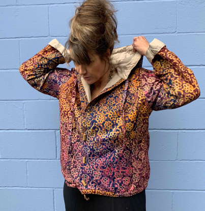 Picture of batik bamboo button hoodie
