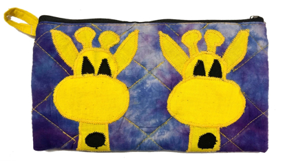 Picture of emma's quilted pouch