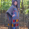 Picture of poncho coat
