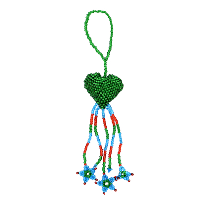 Picture of beaded heart