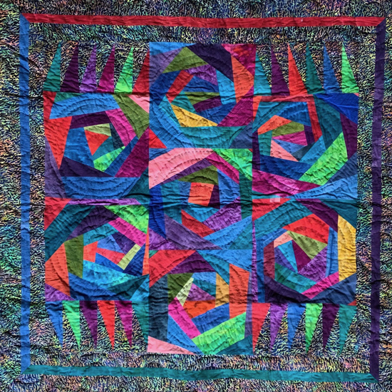 Picture of quilt wallhanging