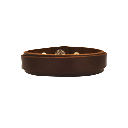 Picture of thai double leather bracelet - wide