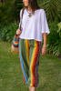 Picture of wide band cotton pants
