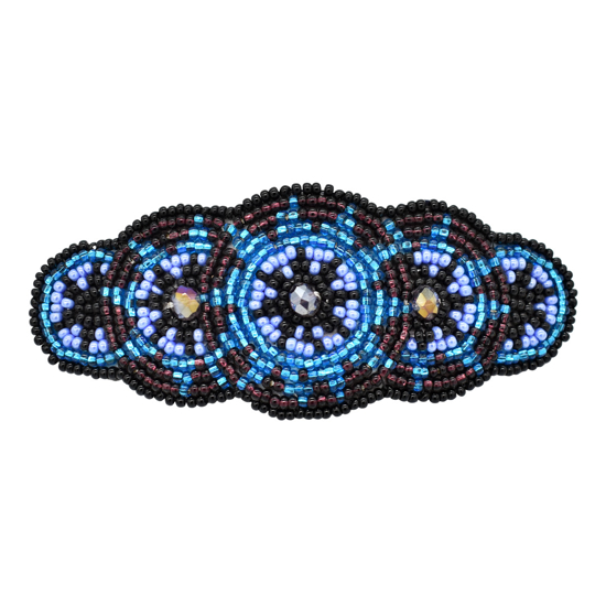 Picture of beaded star barrette