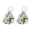 Picture of guitar pick earrings