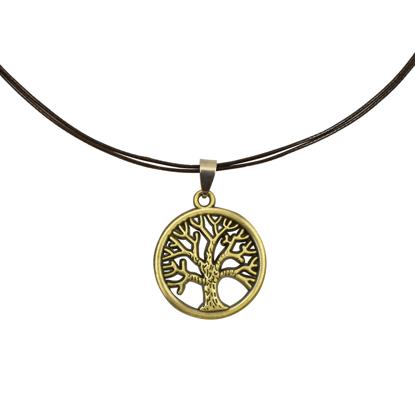 Picture of knotted tree of life