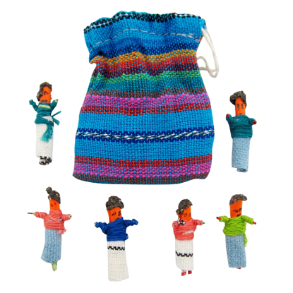 Picture of worry doll - matchstick size