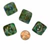 Picture of glass button - square