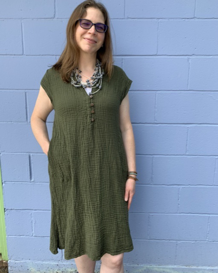Picture of coco button dress