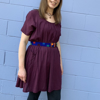 Picture of short sleeve cotton tunic