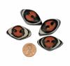 Picture of glass button - diamond