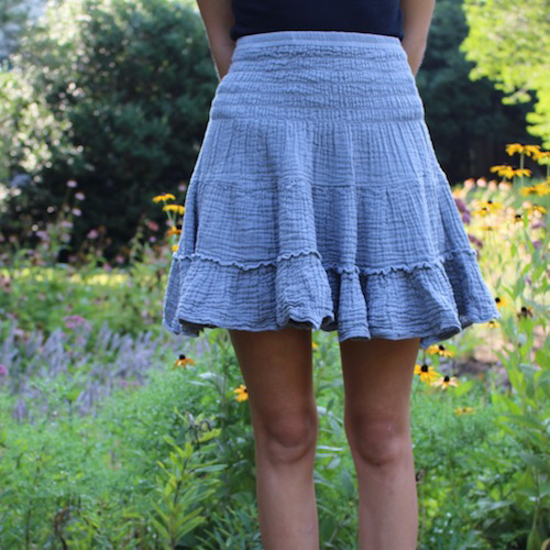 Picture of gauzy dance skirt