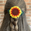 Picture of floral hair clip