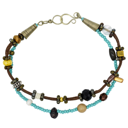 Picture of two tone bracelet