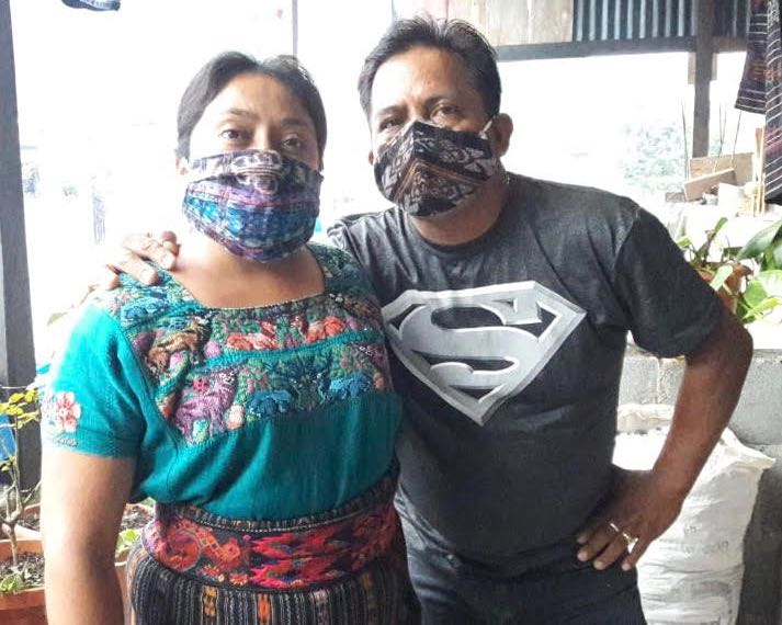 When you buy a face mask from Unique Batik, you're helping talented artisans like Laura and Francisco -- hit hard by the coronavirus pandemic.